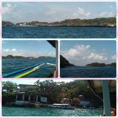 Hundred islands hopping