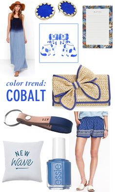 Color trend: cobalt // Twin Stripe