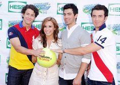 Jonas brothers wearing polo shirts