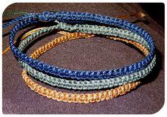 Armband - Makramee - Flechtarmband - Huayna von Kunsthandwerk Sunnseitn auf DaWanda.com