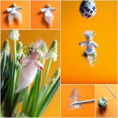 Daily Colours : Flower and Nest Fairies - Free PDF-pattern download