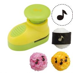 Japanese Bento Nori Puncher Seaweed Cutter Music Note for Seaweed ...