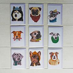 Fetch & Follow Greetings Cards: Perfect for Pet Lovers. Designed and printed in the UK