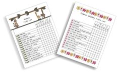Weekly To Do Checklist for Kids | TheSimplePen.com