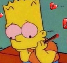 ριитєяєѕт : FRE ♡ Simpson Wallpaper Iphone, More Wallpaper, Cute Disney Wallpaper, Cartoon Memes, Cartoon Pics, Cartoons, Bart Simpson, Simpsons Drawings, Weed Art