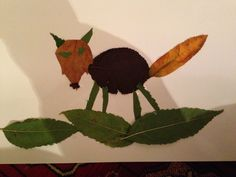 Fox leaf collage