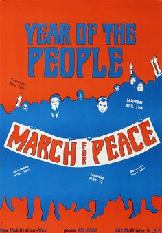 Wartime Peace Psoter Year of the People Prints & par OMGsoRETRO