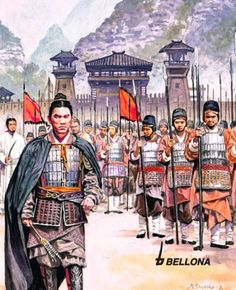 Historical Art, Historical Pictures, Historical Illustrations, Medieval World, Medieval Fantasy, Military Art, Military History, Chinese Armor, Dynasty Warriors