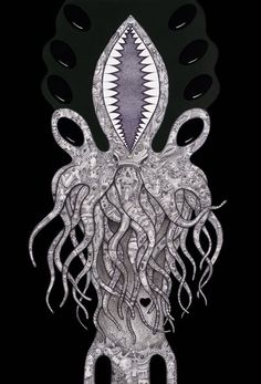 """Cthulhu is a fictional cosmic entity who first appeared in the short story """"The Call of Cthulhu"""", published in the pulp magazine Weird Tales in 1928. The character was created by writer H. P. Lovecraft."""