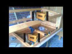 Wir bauen einen Kistenstall mit Außengehege - YouTube