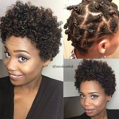 Cutest Bantu Knot Out Ever