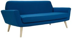 Scope Sofa: COMFY AND COMPACT. With its small, comfy and compact form, SCOPE offers a modern and relaxed approach to design. Comfort and high quality in clean lines that will always be modern. Perfect for urban living where space is limited. Plywood Furniture, Loft Furniture, Blue Furniture, Furniture Design, Canapé Design, Sofa Design, Contemporary Sofa, Modern Sofa, 5 Seater Sofa