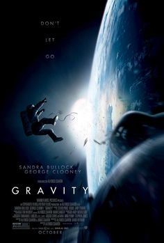 Don't let go. Exclusive new poster for Alfonso Cuarón's Gravity starring Sandra Bullock and George Clooney.