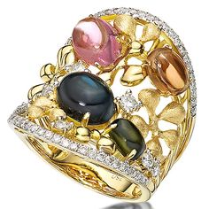 color-stone-rings-BS15162R-32 #jewelry #colorstone #ring