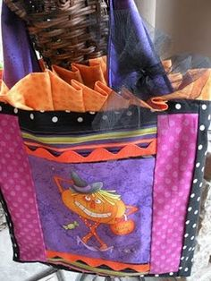 Halloween bags for the grand kids!