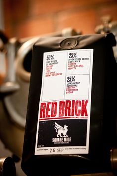Square Mile :: Red Brick Coffee Beans