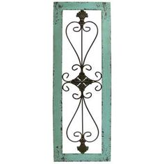 Get Turquoise Framed Metal Wall Decor online or find other Wall Art products from HobbyLobby.com