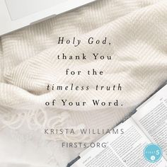 Ten Commandments beautifully explained by Krista Williams at First 5
