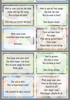 Learn Dutch, Teenage Parties, Challenge Games, Dutch Language, Teaching Literature, Moraira, Busy Boxes, School Posters, Brain Breaks