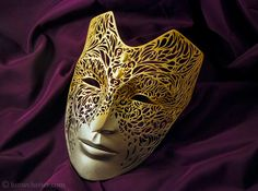 Empress Celene Mask (Dragon Age) 3D Printed by Lumecluster on deviantART