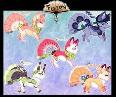 Foxfan Fruit Edition // Auction // CLOSED by Belliko-art
