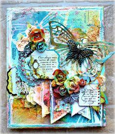 Kelly Foster sur Un peu fleur bleue... la passion des fleurs!