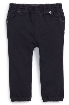 Burberry Stretch Cotton Pants (Baby Girls) available at #Nordstrom