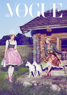 VOGUE  Learn More About http://www.royaldressedladies.com/