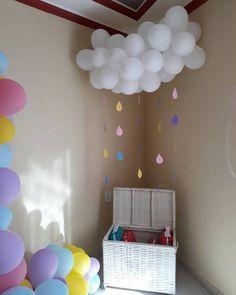 Rainbow Birthday, Unicorn Birthday Parties, Unicorn Party, Baby Birthday, Party Decoration, Birthday Decorations, Anniversaire My Little Pony, Cloud Party, Baby Shawer