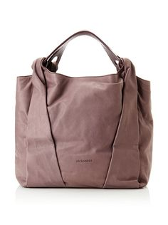 JIL SANDER Women's Leather Tote at MYHABIT
