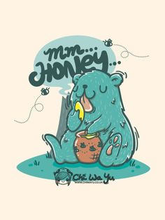 Mm...Honey by Chi Yu, via Behance