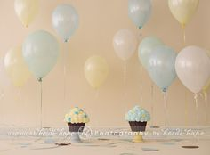 If you decide you wanna use balloons, this is a fun way to arrange them