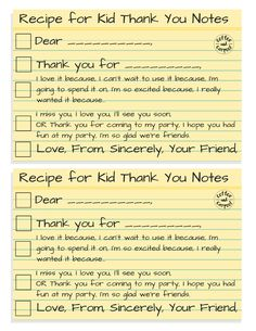 Do you want to help your child write thoughtful kid thank you notes for Christmas, Hanukkah or birthday gifts? Use this free printable to help write them! Thank You Note Wording, Thank You Letter, Thank You Notes, Teaching Kids Manners, Manners For Kids, Manners Activities, Summer Activities, Printable Thank You Cards, Thank You Card Template
