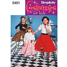 Buy Simplicity Children Costume Dressmaking Leaflet, 5401 Online at johnlewis.com