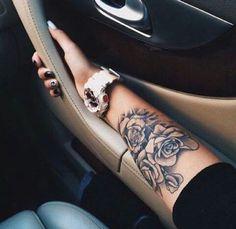 Impressive Forearm Tattoos for Women