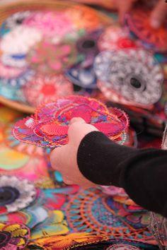 Ñanduti, lacy fine crochet in Paraguay