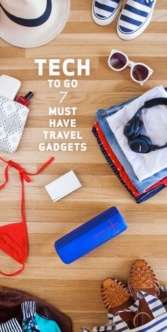 Before you head to the beach, check out these tech tips for your travel plans. Whether you're hitting the road or flying, choose a Mophie Powerstation Plus 3x for juice, the Bose SoundLink on-ear Bluetooth headphones for tunes on the trip and a Logitech UE Mega Boom wireless speaker for the party when you get there.