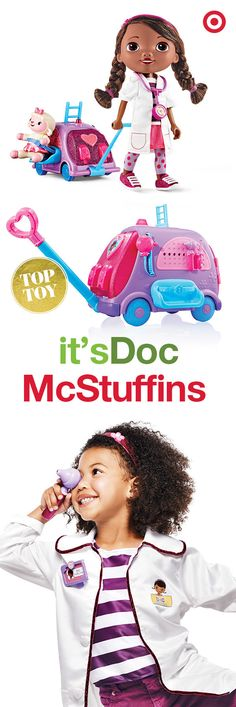 The prescription for tons of fun is Doc McStuffins. These gifts for girls are the perfect diagnosis for a Christmas they'll never forget. Doc Mcstuffins, Christmas Toys, My Princess, Gifts For Girls, Bffs, My Children, Boy Or Girl, Ava, Kids Toys