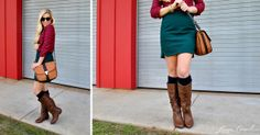 "I will have to check out these boots from Target.  Found on Lauren Conrad's Style Guide: ""5 Fall Boots Under $100"""