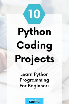 Are you wondering what Python programming projects you can build when you are new to coding? Use these beginner-friendly ideas for inspiration for your first own Python program. Whether you are completely new to Python or you've just finished your first online course or video tutorial, these projects are perfect for you. You will also find step by step videos, tips and examples to get started right away. #python #programming #coding #tech #learncoding #mikkegoes Learn Html, Learn To Code, Learning Web, Learning Resources, Python Programming, Computer Programming, Machine Learning Projects, Coding For Beginners, Web Development Projects