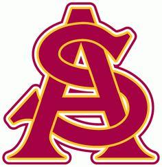 Arizona State Sun Devils Alternate Logo on Chris Creamer's Sports Logos Page - SportsLogos. A virtual museum of sports logos, uniforms and historical items.