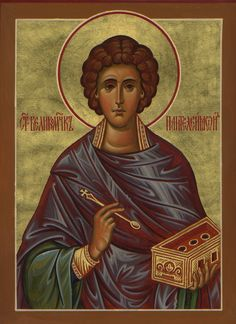 128 best heilige panteleimon icons images on pinterest