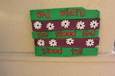Handmade Distressed Wood Plank Sign And Where She by sondering, $40.00