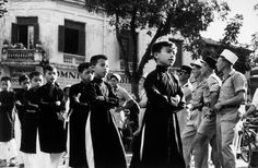 1954: Last days of French war in Indochina (Mostly in Vietnam) Photography by (Hungarian born) Robert Capa