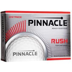 NEW Pinnacle Golf Balls for 2017. Item #62374 - Pinnacle® Rush. Longest golf ball in the value golfer segment. Superior quality and consistency. Price includes 1 to 4-color imprint, 1 location. www.imprintgolf.com 401-841-5646 #golfballs #golf #golftournments #pinnaclegolf #pinnacle #pinnaclegolfballs #golfoutings