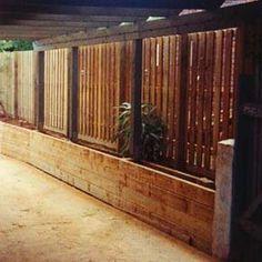 Planter Fencing