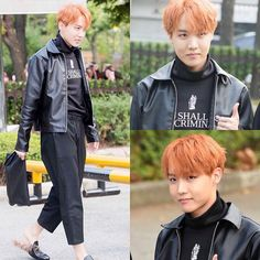i think these shoes are the same V was wearing at their last photo with RapMon in Mexico