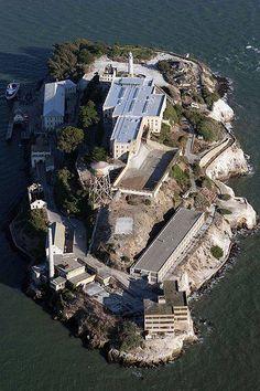 Alcatraz, San Francisco. California