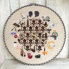 Sherclock Cross Stitch Pattern Digital by OtterlyInXStitches