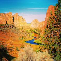 Then travel across to Smith Rock. | Taking A Trip Through The Seven Wonders Of Oregon